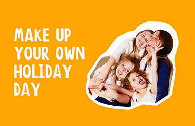 Make Up Your Own Holiday Day | Chicago Family Photographer | we are all in this together