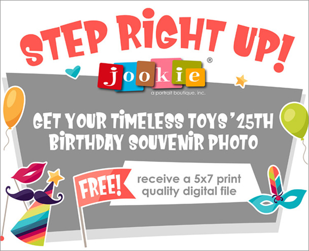 Timeless Toys' 25th Birthday Carnival